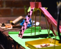 CARDBOARD BACKYARD  - workshops for children and parents